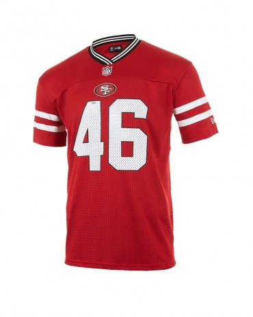 NEW ERA San Francisco 49ers Red Oversize Tee
