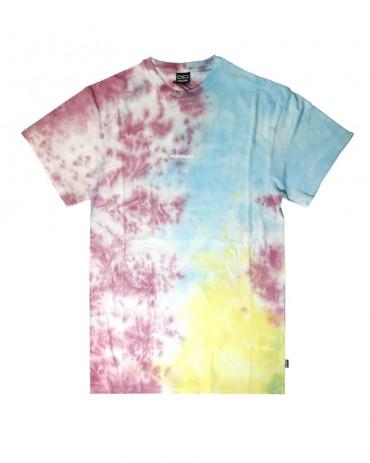 PROPAGANDA Tie Dye Ribs Tee Multicolor