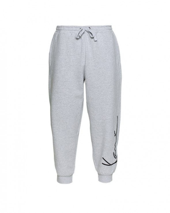 KARL KANI Signature Sweatpants Ash Grey