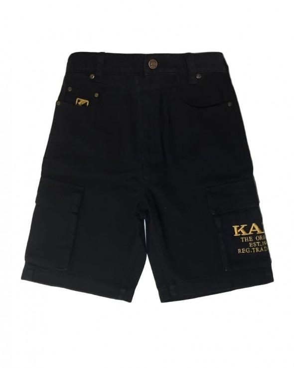 KARL KANI OG Cargo Shorts Black