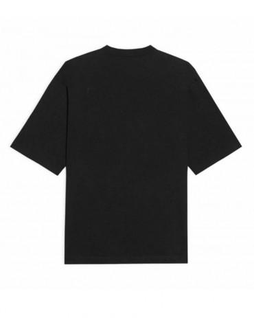 PHOBIA Blue Lightning Black T-shirt