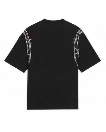 PHOBIA Barbed Wire Black T-shirt