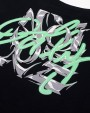 DOLLY NOIRE Typography Neon Black