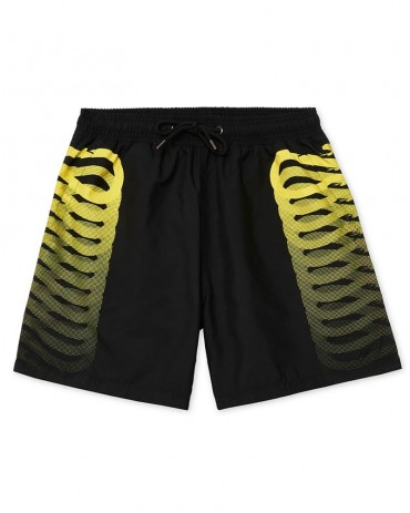 PROPAGANDA Costume Ribs Black and Yellow