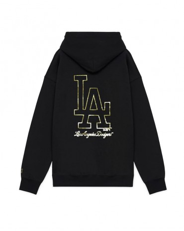 NEW ERA Metallic Hoodie Los Angeles Dodgers