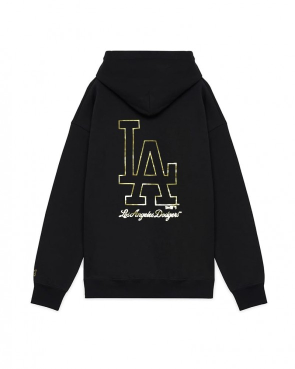 NEW ERA Metallic Hoodie Los Angeles Dodgers