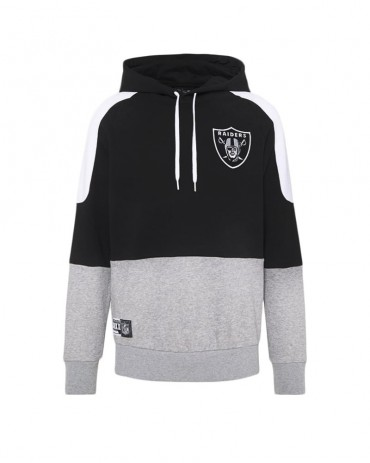 NEW ERA Contrast Panel Hoodie Las Vegas Raiders