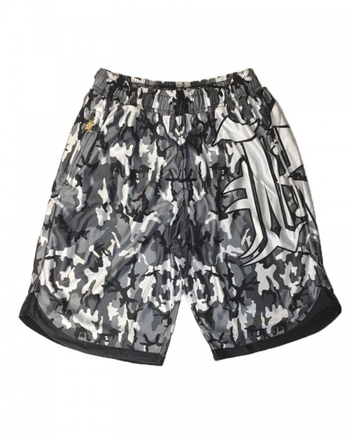 Kali King Pantaloncini Basket Camo Grey