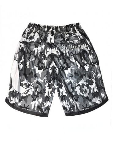 Kali King Pantaloncini Basket Camo Grey
