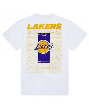 NEW ERA Los Angeles Lakers Repeat Logo T-Shirt