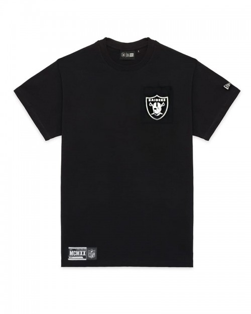 NEW ERA Las Vegas Raiders Box Logo T-shirt