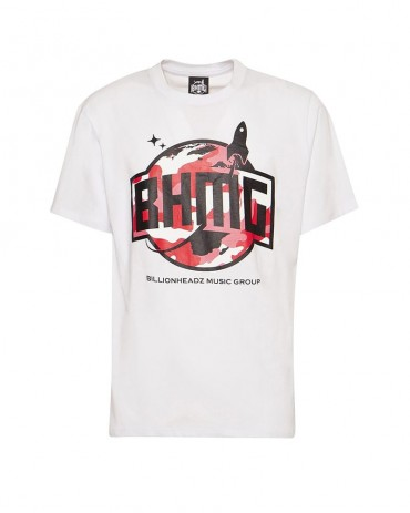 BHMG - Camo T-shirt White