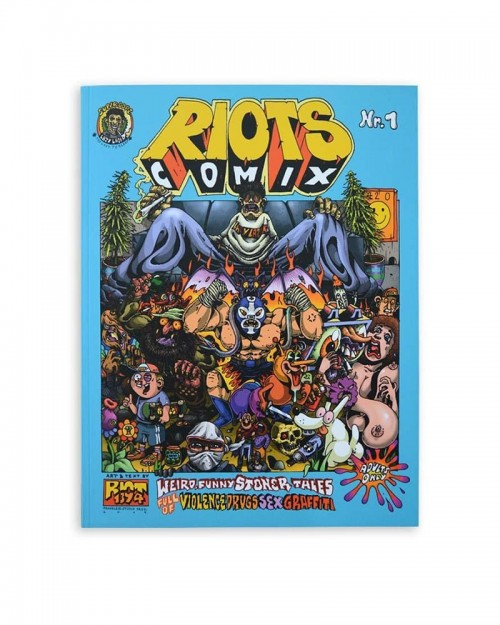 RIOT1934 - Comix Nr.1 - Signed