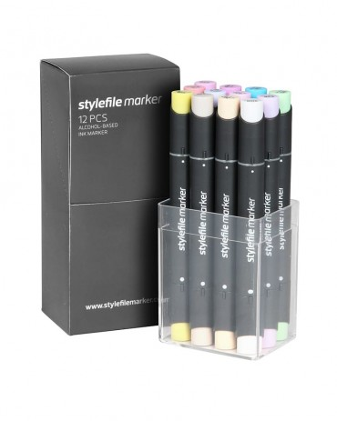 STYLEFILE Marker Set A 12 Pz