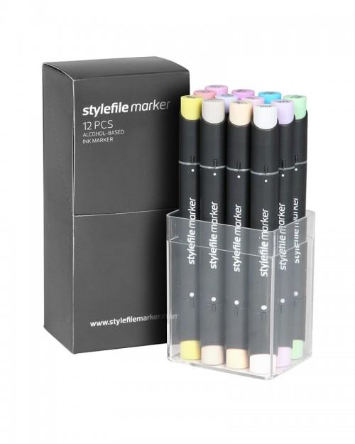 STYLEFILE Marker Set A 12 Pz