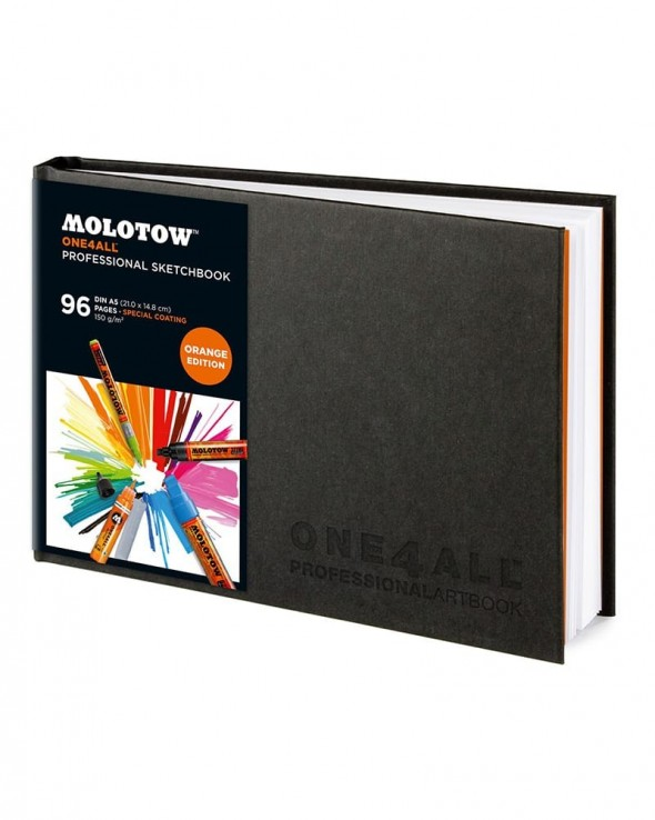 MOLOTOW One4All Professional Blackbook A5 Orizzontale