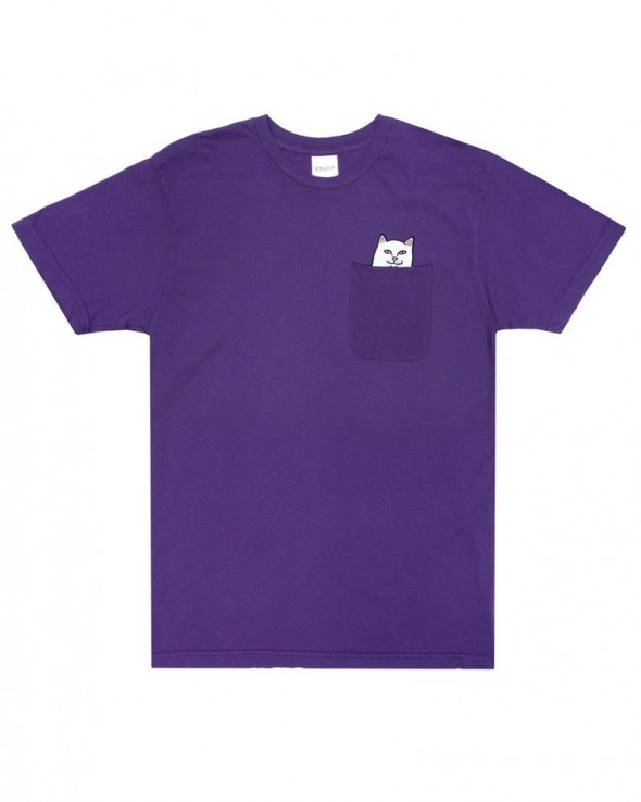 RIPNDIP Lord Nermal Pocket Tee Purple