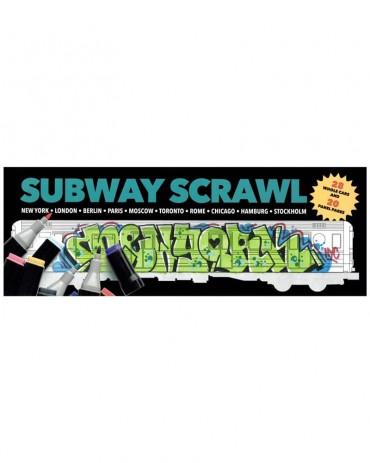 Subway Scrawl Coloring Book