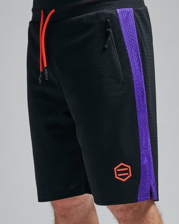 DOLLY NOIRE Mesh Shorts Black