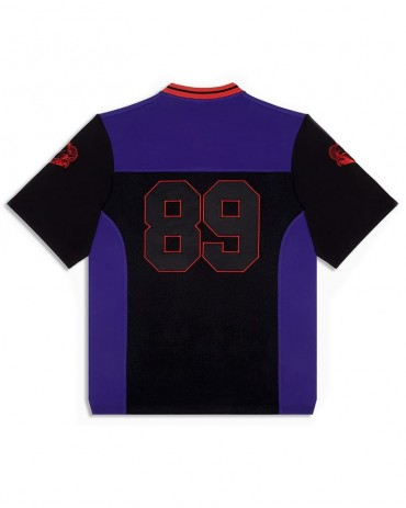 DOLLY NOIRE Football Fury Black and Purple