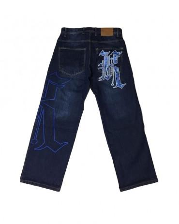 Kali King Blue Camo Jeans