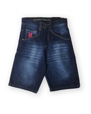 Kali King  Jeans Denim Camo Red Shorts