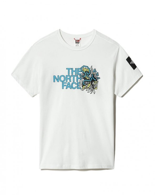 THE NORTH FACE - Black Box Graphic T-Shirt White