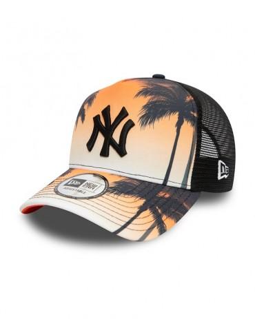 NEW ERA 9FORTY New York Yankees Trucker Summer City Black