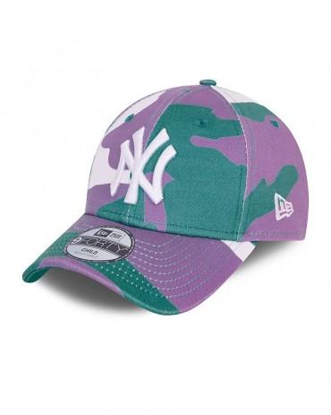 NEW ERA 9FORTY Camo Pack New York Yankees Turchese Child (4-6 Yrs)