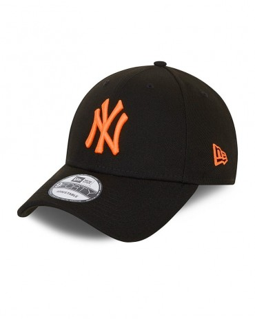 NEW ERA 9FORTY New York Yankees Neon Logo Black