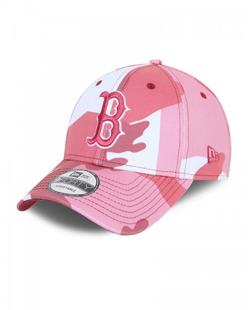 NEW ERA 9FORTY Camo Pack Boston Red Sox Rosa