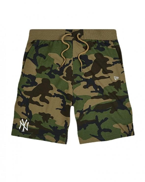 NEW ERA MLB New York Yankees Camo Jersey Shorts