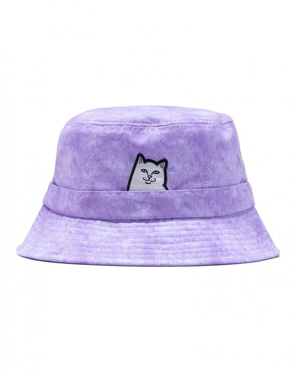RIPNDIP Lord Nermal Bucket Hat (Lavender Mineral Wash)