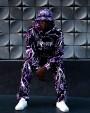 RIPNDIP Nikola Hoodie Black/Purple