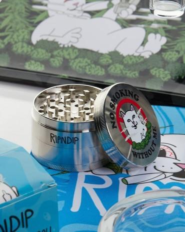 RIPNDIP No Smoking Grinder Silver