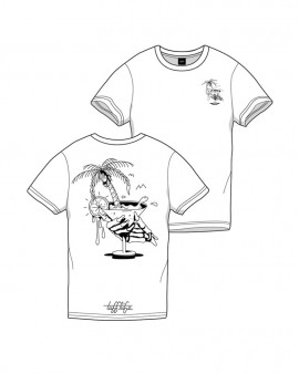 T-shirt PALM COCKTAIL Tufflife - Opium