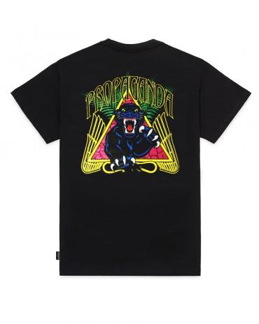 PROPAGANDA Panther Tee Black
