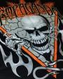 PROPAGANDA Skeleton Tee Black
