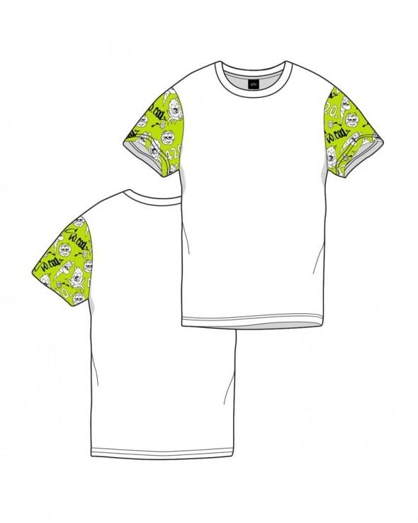 T-shirt SOCOOL420 Pattern Tufflife