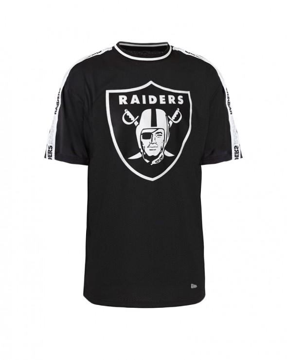 NEW ERA NFL Las Vegas Raiders Oversized Taping T-Shirt