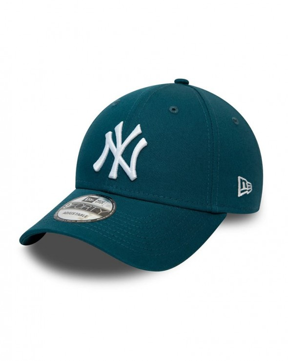 NEW ERA 9FORTY League Essential NY Yankees Petrol Blue