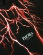 PHOBIA Red Lightning Black Hoodie