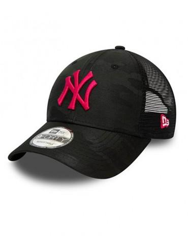 NEW ERA 9FORTY New York Yankees Home Field Trucker Black