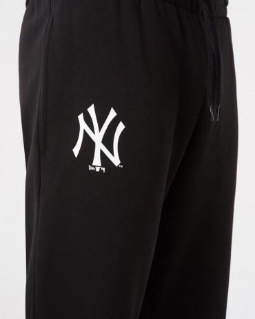 NEW ERA MLB NY Yankees Team Logo Jogger Black
