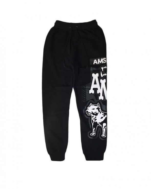 AMSTAFF Sweatpants Doranis Black