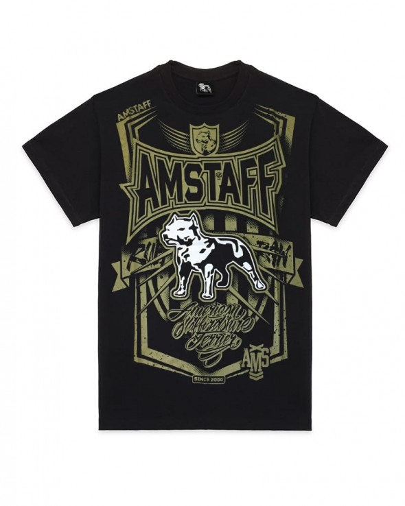AMSTAFF Perigor T-shirt Black