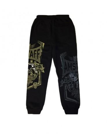 AMSTAFF Sweatpants Perigor Black