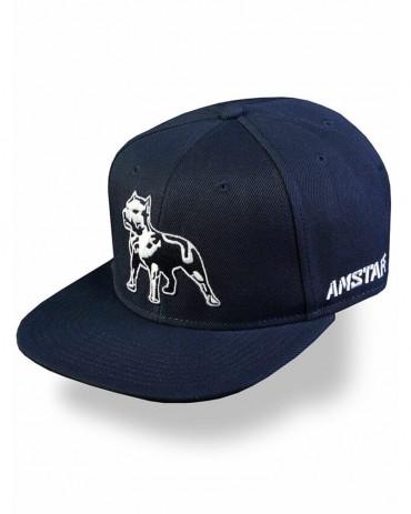 AMSTAFF Timus Snapback Cap Blu