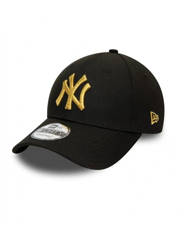 NEW ERA 9FORTY New York Yankees Repreve Team Contrast Black