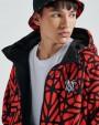 DOLLY NOIRE Bosco Pattern Jacket Zip Hoodie